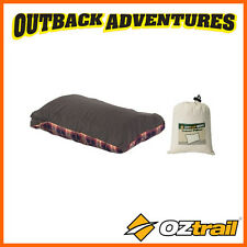 OZTRAIL TRAVEL PILLOW CAMPING COMPACT SLEEPING BEDDING ACS-TP-B