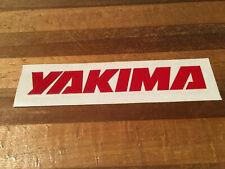 Yakima - Bicycle Cycling Sticker Decal