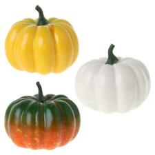 Fake Artificial Pumpkins For Halloween Fall Harvest Thanksgiving Party Decor