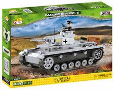 BRICKS COBI 2523 SMALL ARMY Panzer III Ausf.E 470 ELEMENT 1 FIGURES WW2