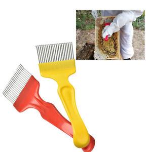 Edelstahl Imkerei Werkzeug Straight Tine Entdeckelungsgabel Bienenzucht Gabel