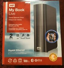 WD My Book Live 2TB Personal Cloud Storage NAS External Network Drive