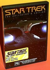Star Trek: The Next Generation DVD R4 - Clues / First Contact / Galaxy's Child