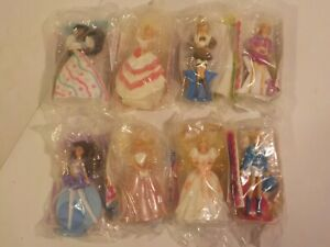 COMPLETE SET of 8 1992 BARBIE With Hair You Can Style McDonalds Happy Meal Toys