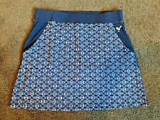 New with tags ~ Size Large ~100% by Girls Golf Skort ~ Navy White ~ $ 105 Retail