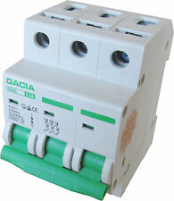 Leitungsschutzschalter GACIA SB6L 3P C16A, Sicherungsautomat MCB