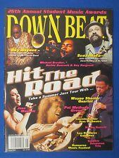 DOWN BEAT MAGAZINE JUNE 2002 ROY HAYNES JANE MONHEIT WAYNE SHORTER KENNY GARRETT
