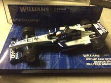 MINICHAMPS WILLIAMS BMW FW22 Showcar 2001 Juan Pablo Montoya