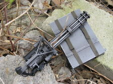 1/6 ZY Toys M134 Gatling Minnigun Vulcan Cannon Gun Model Toys F 12'' Man Figure