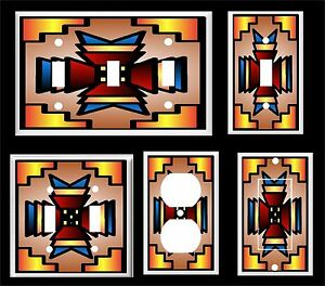 SOUTHWEST AMERICAN NATIVE DESIGN #30   LIGHT SWITCH COVER PLATE