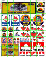4034 DAVE'S DECALS HO CANADIAN GAS TIRE HUSKY PETRO MODERN VINTAGE ASSORTMENT