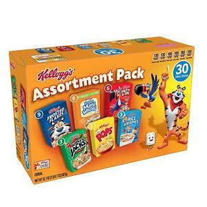 Kellogg's Jumbo Assortment Pack (32.7 oz., 30 pk.)