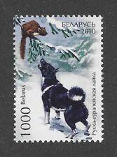 Rare Dog Art Portrait Stamp Karelian Bear Dog Full Body Study Belarus 2010 Mnh