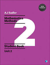 LK NEW Mathematics Methods Unit 2 Revised 1st with Access Code Alan Sadler ATAR