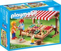 6121 Puesto mercado Playmobil market