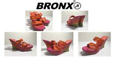 Ladies Shoes Wedge Heel By Bronx Size6 New Free Delivery