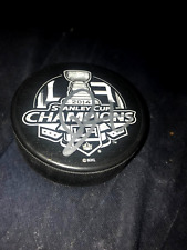 Drew Doughty Los Angeles Kings Autographed Stanley Cup Puck 2014  COA