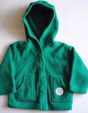 Circo Toddler Girls Green Fleece Coat with Hood Size 2T