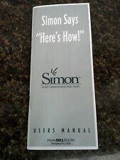 IBM Simon Users Manual Reprint  First Edition (July 1994)