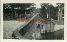 REAL PHOTOGRAPHIC POSTCARD OF WRIGHTINGTON BRIDGE, (NEAR WIGAN), LANCASHIRE