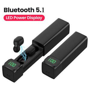Bluetooth 5.1 Kopfhörer Wireless In-Ear Ohrhörer Headset für iPhone Samsung