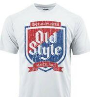 Old Style Dri Fit graphic T-shirt moisture wicking beer beach SPF 50 Sun Shirt