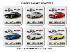 Holden HK GTS MONARO 50th Anniversary Set of 6 Rubber Drink Coasters