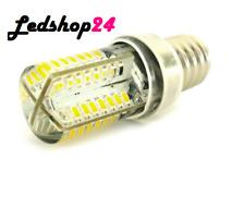 E14 Lampada LED 64 SMD 3014 220V 3W = 30W 360° Con Silicone Slim 3500K**