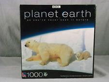 Pole to Pole Polar Bear & Cub 1000 Piece Jigsaw Puzzle NEW BBC Planet Earth