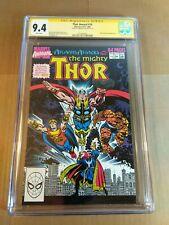 Thor Annual #14 CGC Signature Series 9.4 Mark Bagley - Atlantis Attacks!