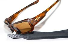 OAKLEY FIVES 3.0 BROWN POLARIZED GASCAN JACKET VALVE MINUTE STRAIGHT 12-858