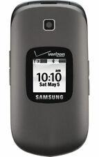 Samsung Gusto II 2 SCH-U365 - Gray (Verizon) Prepaid 3G Camera Flip Cell Phone