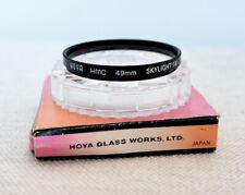 HOYA HMC JAPAN 49mm Skylight 1B Filter for camera lens SLR DSLR