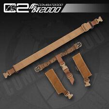 Tactical Vest system special single point gun belt sling Rope