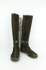 Stivali REGARD Lacci scarpe e Zip Camoscio Marrone T 36/REGNO UNITO 3,5