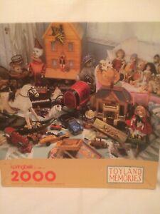 "Springbok ""Toyland Memories"" 2000 Piece Jigsaw Puzzle - COMPLETE"