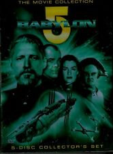 Babylon 5 - The Movie Collection  (DVD, 2004, 5-Disc Set) Preowned