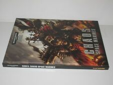 Warhammer 40K Codex Chaos Space Marines 6th edition OOP
