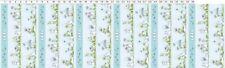 Clothworks Daisy Daisy by Anita Jeram Y2653 87 Lt Denim Decorative StripeCotton