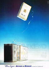 PUBLICITE ADVERTISING 084  1988  BENSON & HEDGES  cigarettes