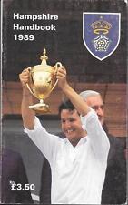 Cricket HAMPSHIRE HANDBOOK 1989 Hampshire County Cricket Club Paperback