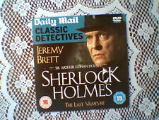 D/MAIL PROMO DVD - SHERLOCK HOLMES - THE LAST VAMPYRE - JEREMY BRETT