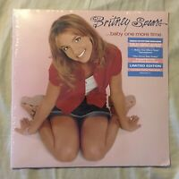 Britney Spears BABY ONE MORE TIME PINK / Rose LP Vinyl Record 2017 NEW SEALED