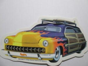 Hot Wheels Sticker Mattel Official Toy Vehicles Trucks Cars   2003