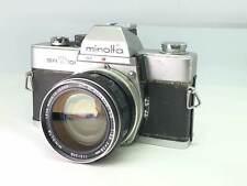 Autocollant comme-Est】Minolta SR-T101 Avec / Mc Rokkor-Sg 28mm f3.5 De Japon