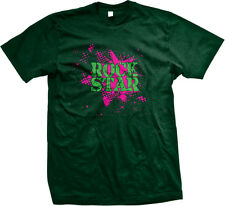 Rock Star Spray Paint Stencil Party Like Band Wild Swag Famous Am Men's T-Shirt