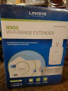 Linksys RE3000W N300 Wi-Fi Range Extender (RE3000W) NIB
