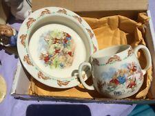 Royal Doulton (As seen in the new Mary Poppins movie) Bunnykins Bowl & mug