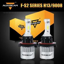 AUXBEAM 72W H13 9008 LED Headlight Bulbs Kit 8000LM Super Bright High Low Beam