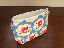 **Handmade Coin Purse Using Gorgeous Cath Kidston Electric Blue Provence Fabric*